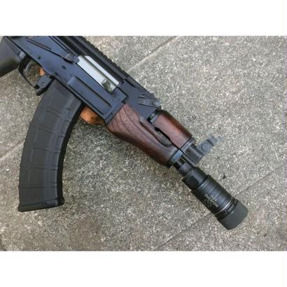在庫品 マルイ βスペツナズ・AK47 HC用クリンコフタイプウッドハンドガード ウォルナット色ツヤなし
