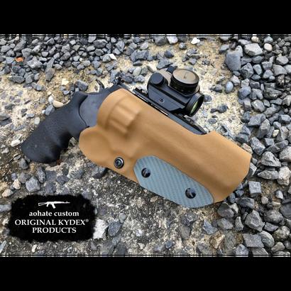 タナカ S&W M327 M&P R8 5インチ用Kydex®ホルスター CB×GREY