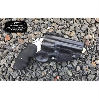 マルイ S&W M66 4インチ用Kydex®ホルスター レザー調BK