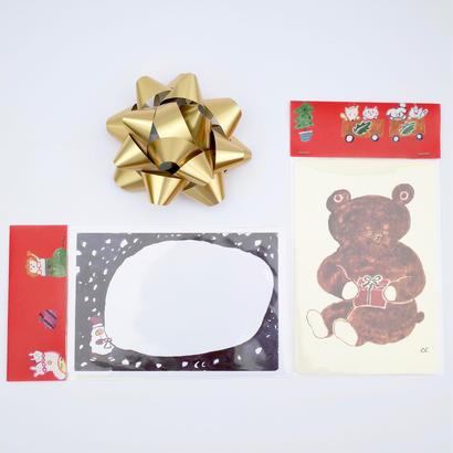 ちえちひろ×あお山ヒュッテ | クリスマスポストカード