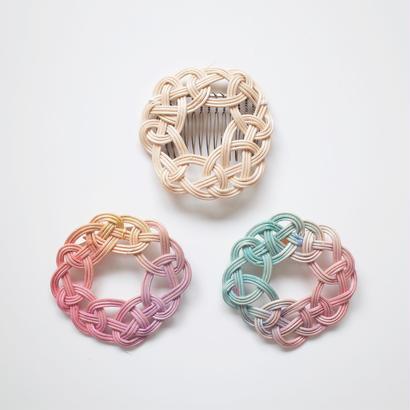 YOSHIKO |  水引サークル籐アクセサリー