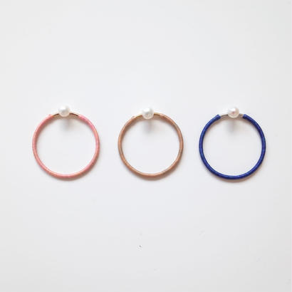 KIKKOU |  1series ring  pearl