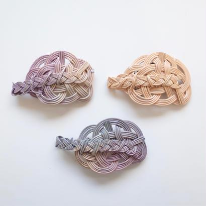 YOSHIKO |  水引三つ編みアクセサリー