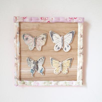 sachiyo oishi |wall ornament butterfly 1~3