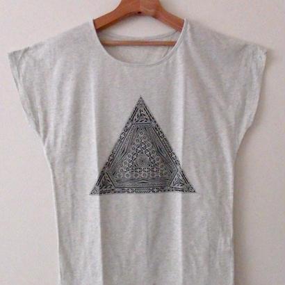 【レディース】ピラミッドTシャツ