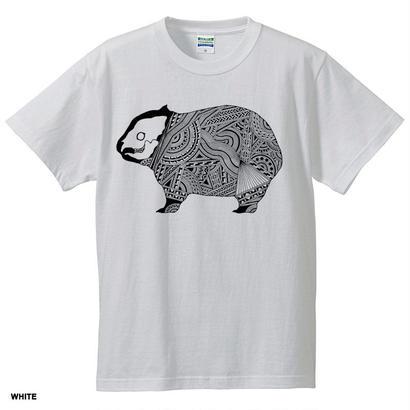 【メンズTシャツ】ウォンバット