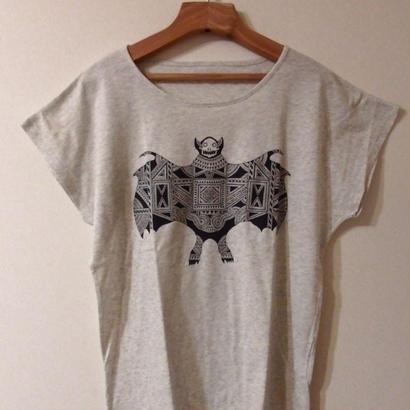 蝙蝠/レディースTシャツ