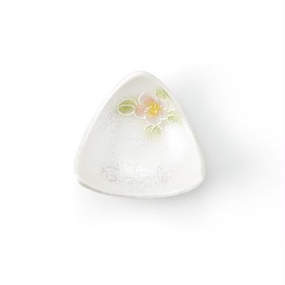 パール山茶花 三角珍味(ピンク)