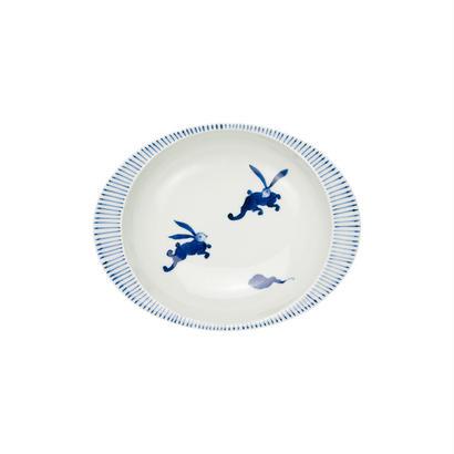 うさぎ −極上のカレー皿【小】−