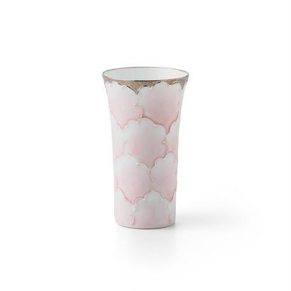 プラチナ牡丹(ピンク)一口コップ