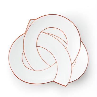 むすび銘々皿 赤線