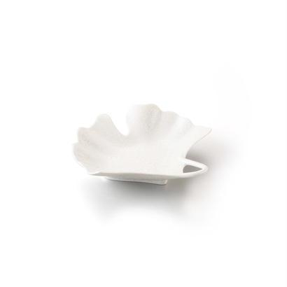 パール いちょう型銘々皿