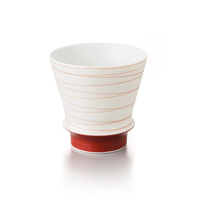 寿(赤)−至高の焼酎グラス−