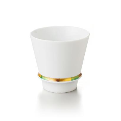 ハッピーリング(白)−至高の焼酎グラス−