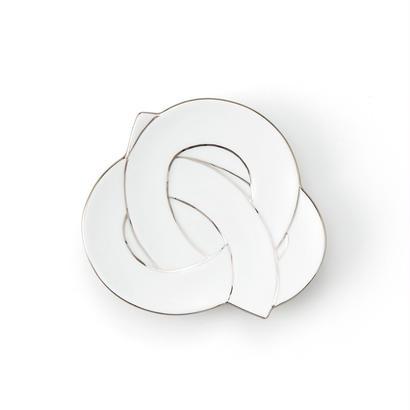 むすび小皿 プラチナ