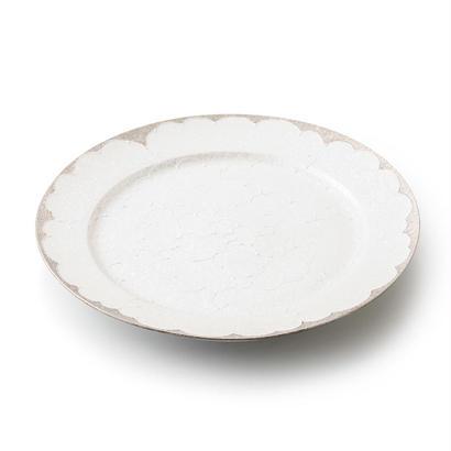 パール牡丹(プラチナ)9寸洋皿