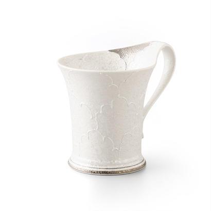 パール牡丹(プラチナ)マグカップ