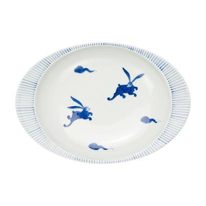 うさぎ −極上のカレー皿【大】−