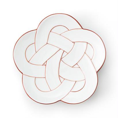 梅むすび銘々皿 赤線