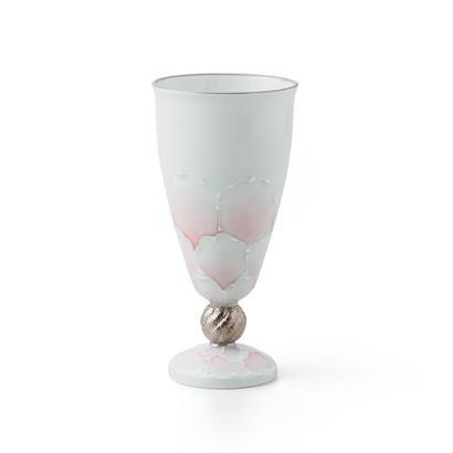 プラチナ牡丹(ピンク)洋酒杯