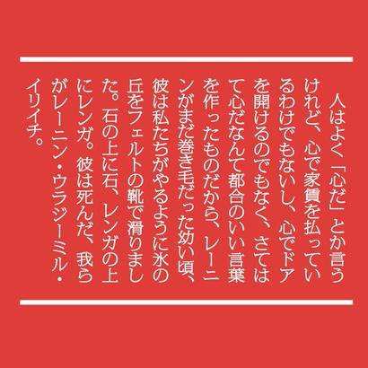 「歴史と天麩羅」のリュックサック