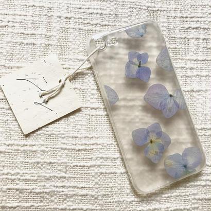 フローラル i phone 7 case  (クリア)②