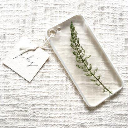 フローラル i phone 7 case (ホワイト)⑤