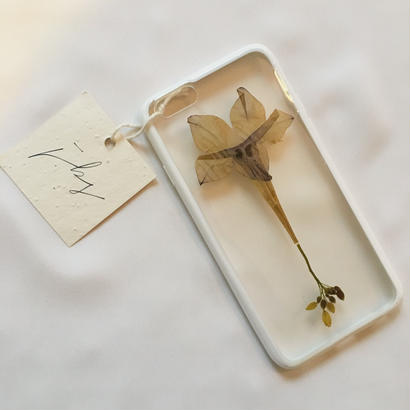 フローラル i phone 6/6S case (ホワイト) ①