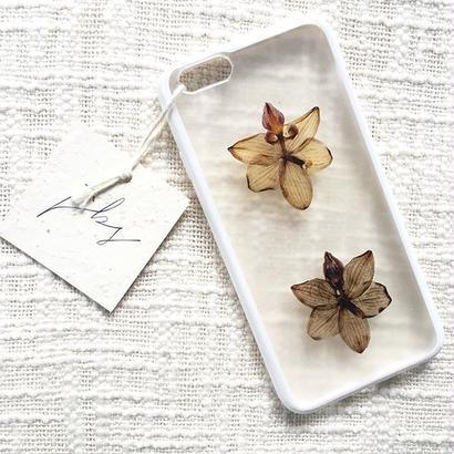 フローラル i phone 6/6S case (ホワイト)④