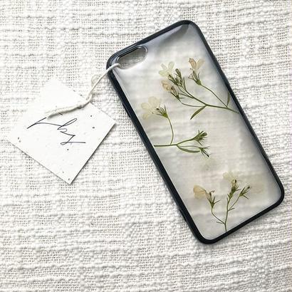 フローラル i phone 6/6S case(ブラック)④
