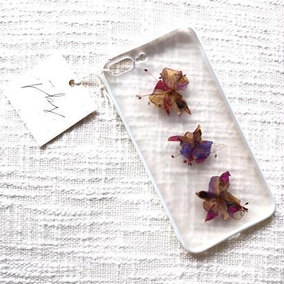 フローラル i phone7Plus case  (ホワイト)②