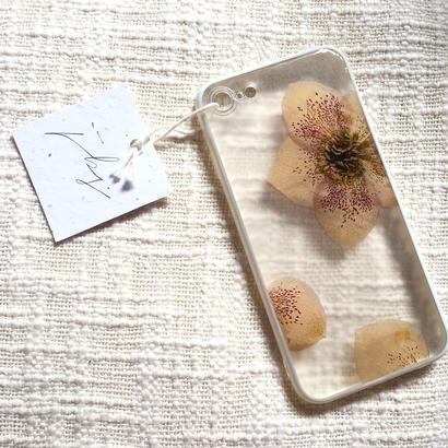 フローラル i phone 7 case (ホワイト)⑨