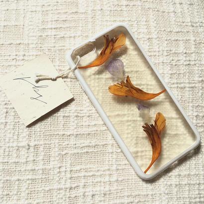 フローラル i phone 6/6S case(ホワイト)②