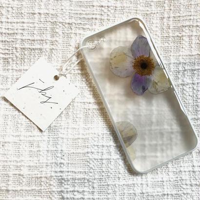 フローラル i phone 7 case (ホワイト)⑧