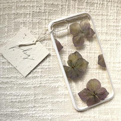 フローラル i phone 7/8 case (ホワイト)④
