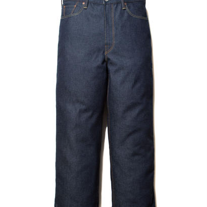 COOTIE 5 Pocket Rigid Wide Denim INDIGO