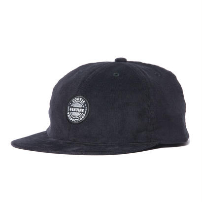 COOTIE Corduroy 6 Panel Cap BLACK