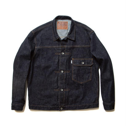 "COOTIE ""Type 1"" Denim Jacket ONE WASH INDIGO"