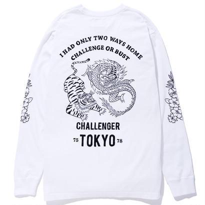 CHALLENGER LS CHALLENGE OR BUST TEE