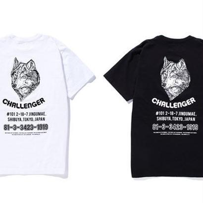 CHALLENGER SOUVENIR WOLF TEE