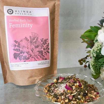 ハーバル バスソルト 「Feminity フェミニティ」