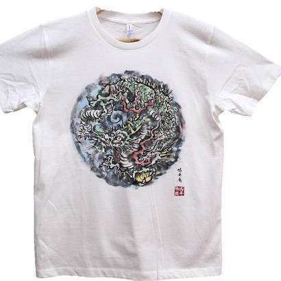 【ディスカウント】龍4 彩色  Lサイズ