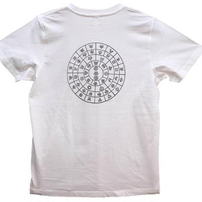 【Tシャツ】ふとまに1 コットン生地 麻炭インク50%/テラヘルツインク50%