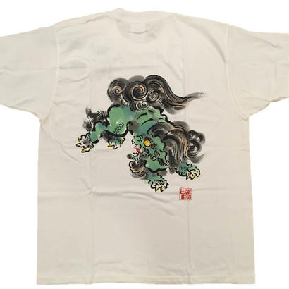 【ディスカウント商品】とび獅子 緑 Mサイズ