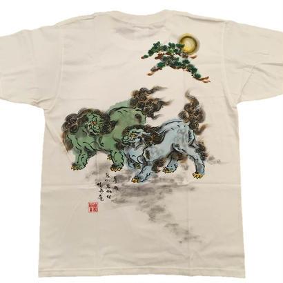 【ディスカウント商品】に獅子 緑 Mサイズ
