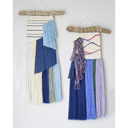 【Exhibition in】weaving 朝顔