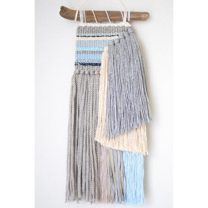 weaving  糸で色を作る-鉱石-