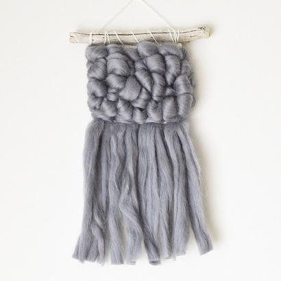 weaving Mary -blue gray-