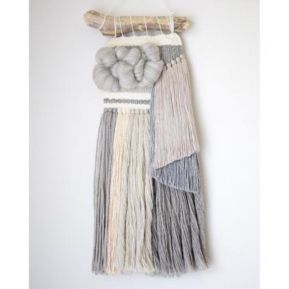weaving 無彩色のカラーブロック