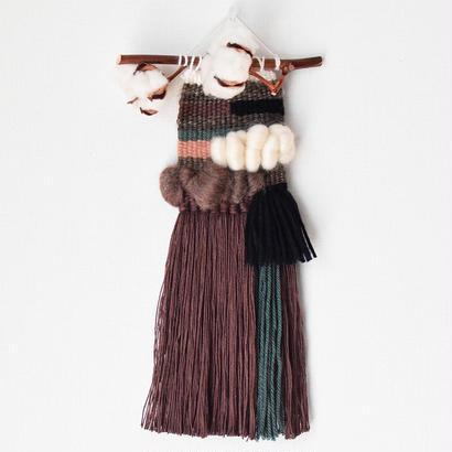 weaving 綿木カラーブロック